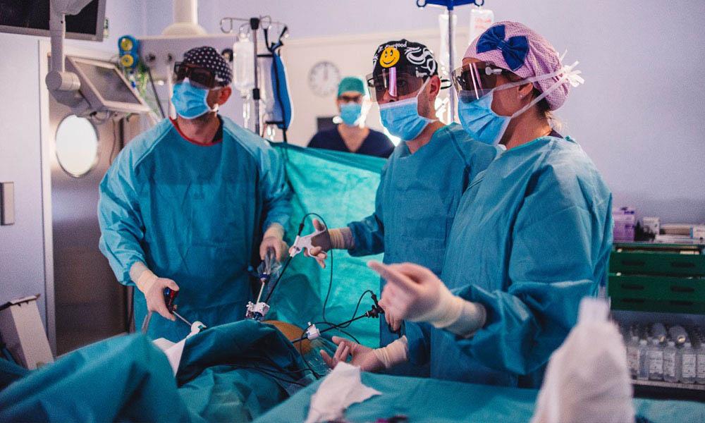 cirugia laparoscopica 3d urologos
